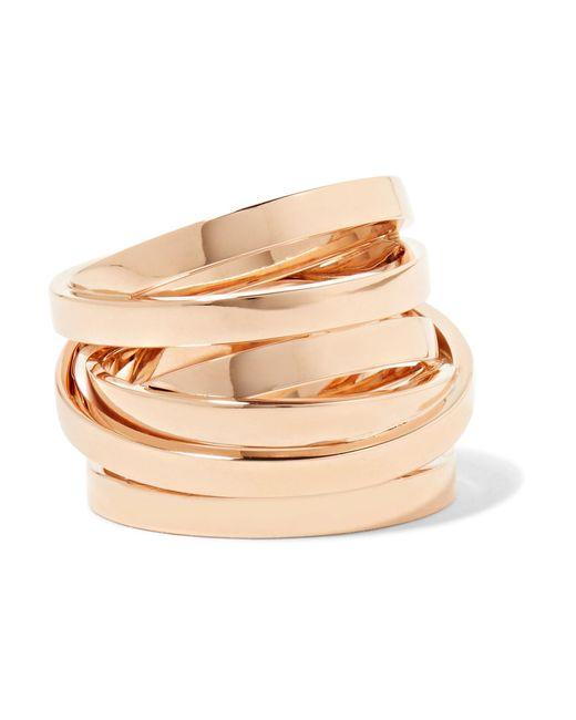 Repossi - Metallic Technical Berbère 18-karat Rose Gold Ring - Lyst