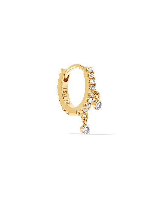Maria Tash - Metallic 18-karat Gold Diamond Hoop Earring - Lyst