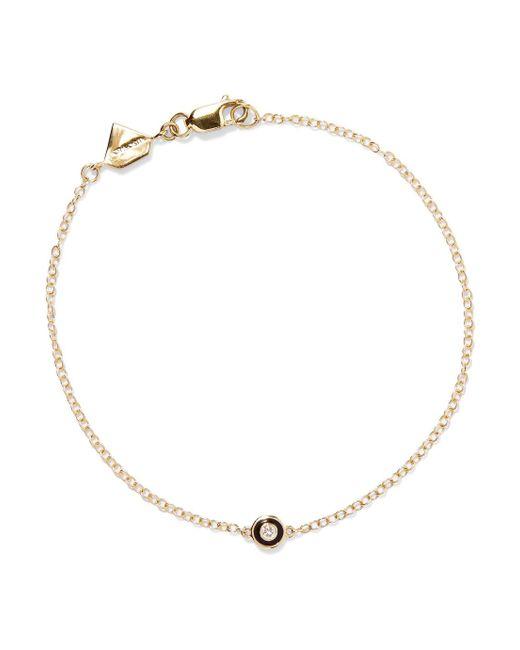 Alison Lou - Metallic Salt Enameled 14-karat Gold Diamond Bracelet - Lyst