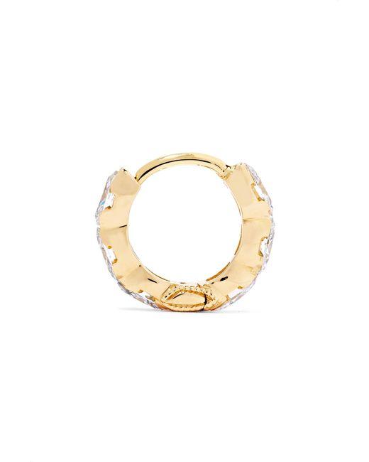 Maria Tash Invisible Eternity 18-karat White Gold Diamond Earring iSfN16I