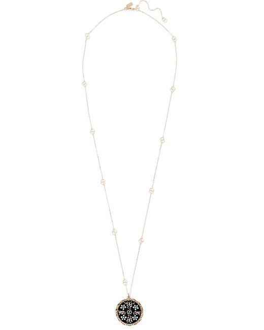 Gucci | Metallic Icon 18-karat Gold And Enamel Necklace | Lyst