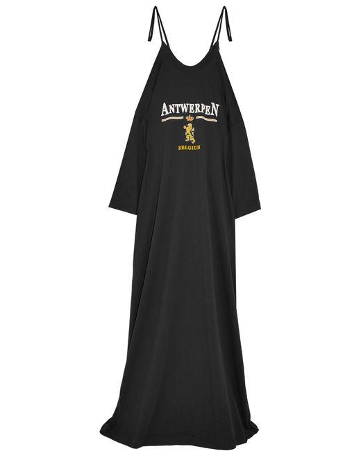 Vetements | Black Antwerpen Maxi Dress | Lyst