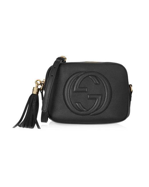 5bfbdae9c Gucci Textured Logo Messenger Bag 523365 Peachblow | Stanford Center ...