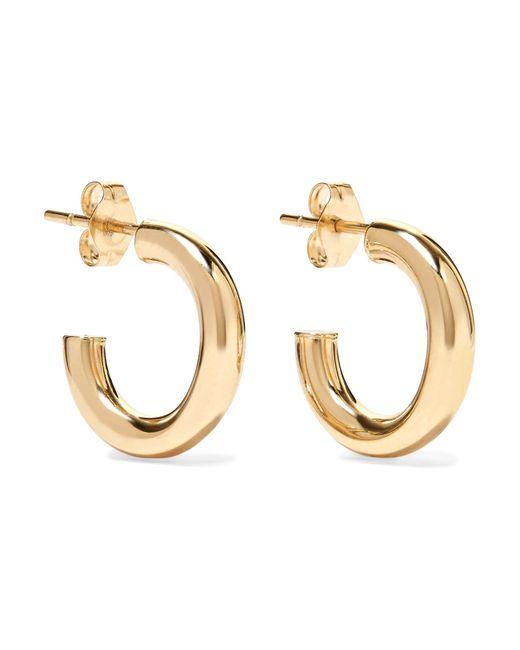 Loren Stewart - Metallic Chubbie Huggies 10-karat Gold Hoop Earrings - Lyst