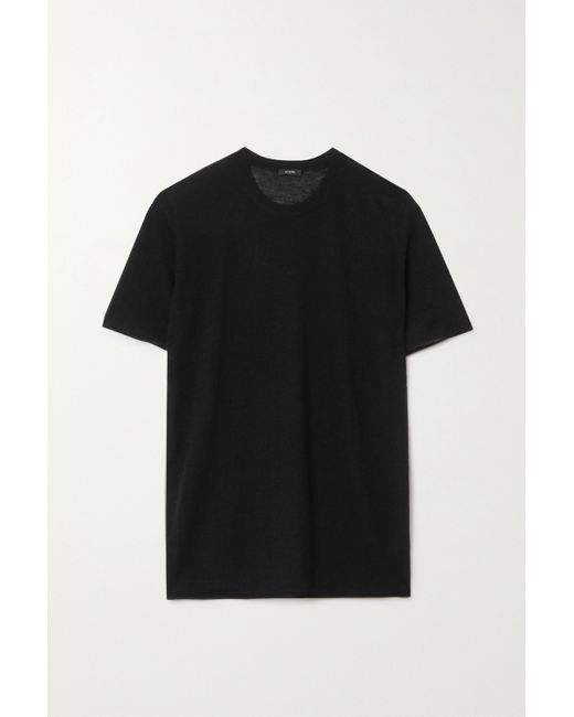T-shirt En Cachemire Joseph en coloris Black