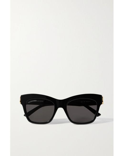 Balenciaga Black Sonnenbrille Mit Cat-eye-rahmen Aus Azetat