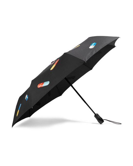 Moschino   Black Printed Umbrella   Lyst