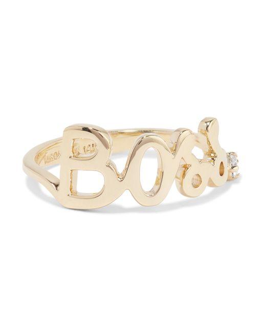 Alison Lou | Metallic Boss 14-karat Gold Diamond Ring | Lyst