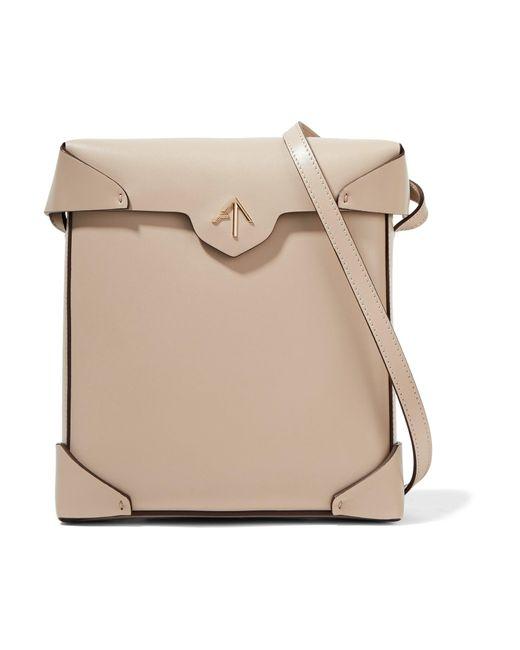 MANU Atelier | Natural Pristine Leather Shoulder Bag | Lyst