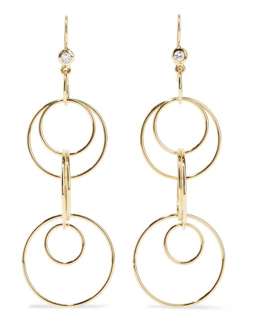 Ippolita | Metallic Glamazon Jet Set 18-karat Gold Diamond Earrings | Lyst