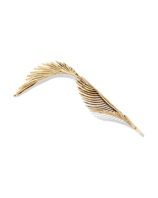 Lelet ny adir abergel gold plated hair slide in metallic for Adir abergel salon