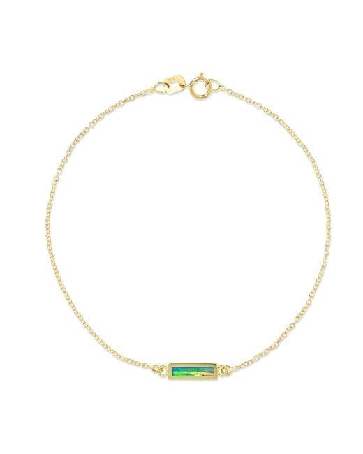 Jennifer Meyer - Metallic 18-karat Gold Opal Bracelet Gold One Size - Lyst
