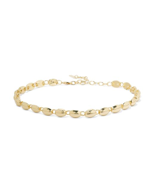 Elizabeth and James | Metallic Blake Gold-plated Choker | Lyst