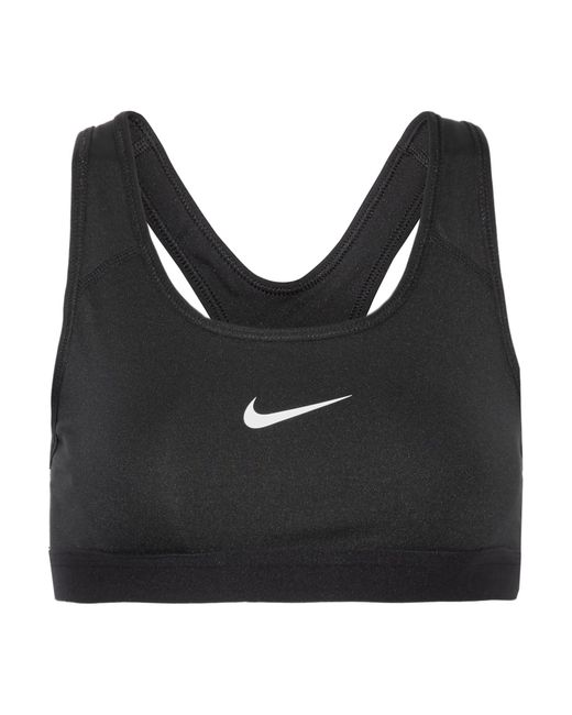 Nike   Black Pro Dri-fit Stretch Sports Bra   Lyst