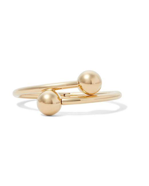 J.W. Anderson | Metallic Gold-plated Bracelet | Lyst