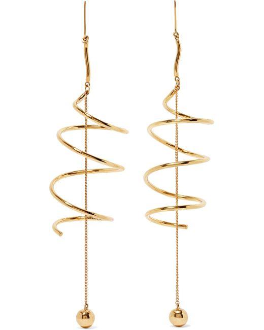 Ellery | Metallic Solitude Gold-plated Earrings | Lyst
