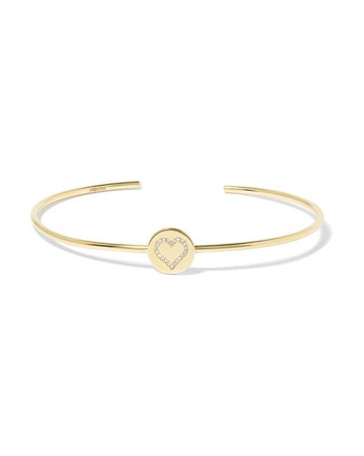 Jennifer Meyer   Metallic 18-karat Gold Diamond Bracelet   Lyst