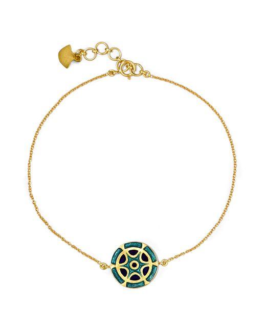 Amrapali | Metallic 18-karat Gold Enamel Bracelet | Lyst