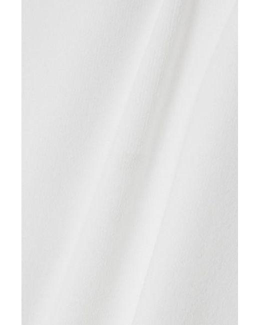 Bottega Veneta White Strickoberteil