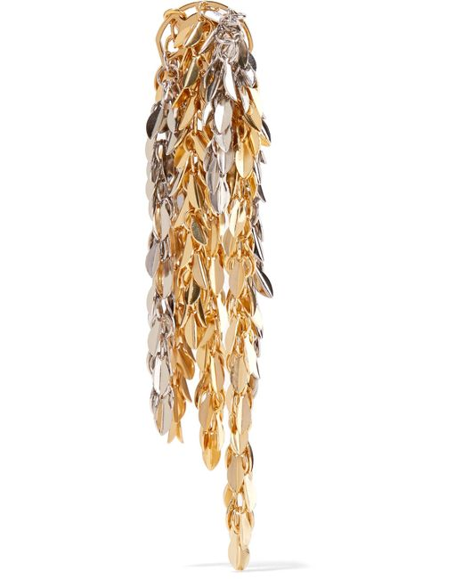 Loewe | Metallic Gold And Palladium-tone Earring | Lyst