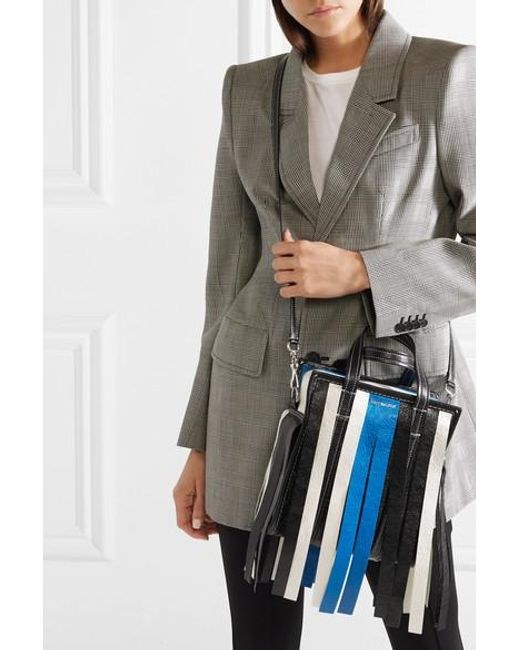 Balenciaga Classic Work Tote Bag in Blue   Lyst