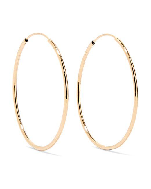Loren Stewart - Metallic Infinity 14-karat Gold Hoop Earrings Gold One Size - Lyst