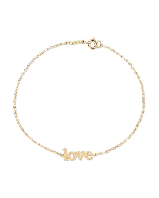 Jennifer Meyer - Metallic Love 18-karat Gold Bracelet - Lyst