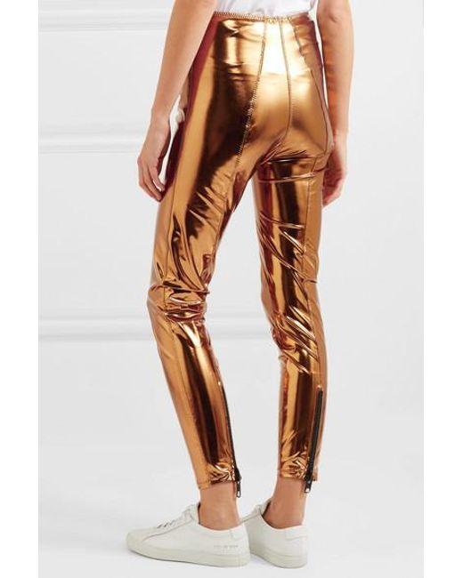 3603e37f5acd6 ... Lisa Marie Fernandez - Multicolor Karlie Metallic Stretch-pvc Leggings  - Lyst ...