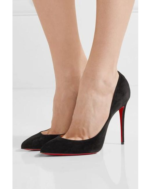 c01bd0643ca Women's Pigalle Follies 100 Black Suede Pump