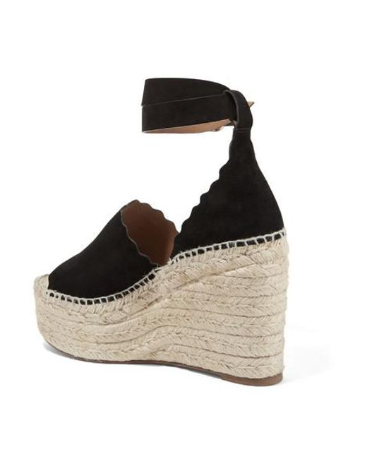 e088f9f3ecb Women's Black Lauren Wedge Espadrilles
