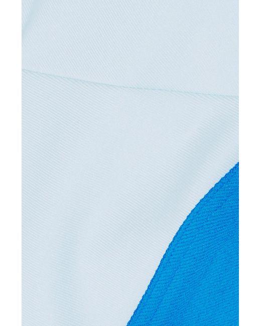 d59604b7db ... Nike - Blue Ice Flash Stretch Sports Bra - Lyst