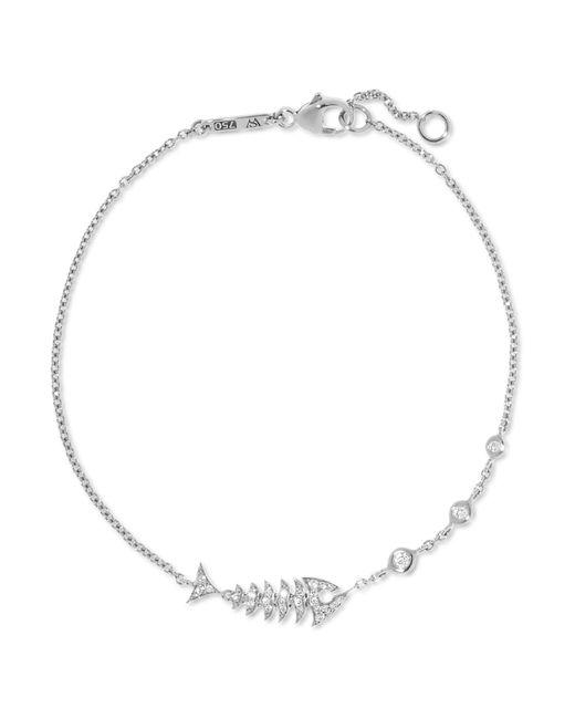 Stephen Webster - Multicolor Jewels Verne Topkat 18-karat White Gold Diamond Bracelet - Lyst