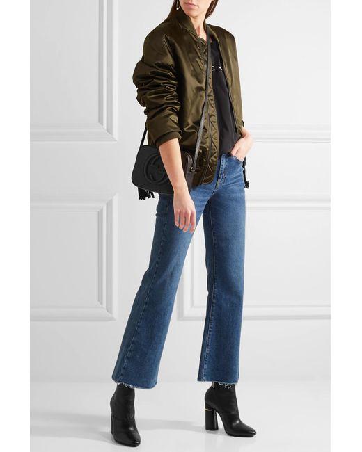 cfb1acbcfa3de ... Gucci - Black Soho Small Leather Disco Bag - Lyst ...