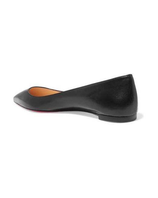 vente chaude en ligne eaf22 0154c Ballerines À Bouts Pointus En Cuir Ballalla femme de coloris noir