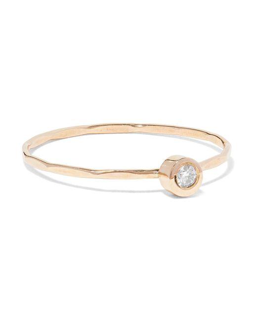 Melissa Joy Manning - Metallic 14-karat Gold Diamond Ring Gold 7 - Lyst