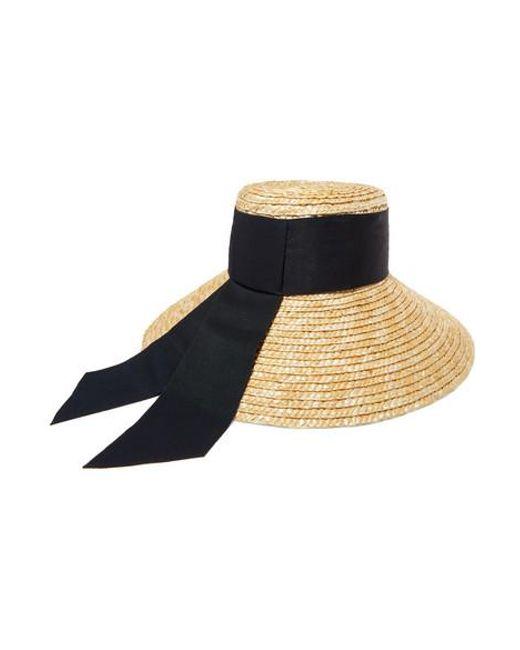73e3674c0 Women's Natural Annabelle Grosgrain-trimmed Straw Hat