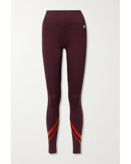 Tory Sport Multicolor Weightless Stretch-leggings Mit Print