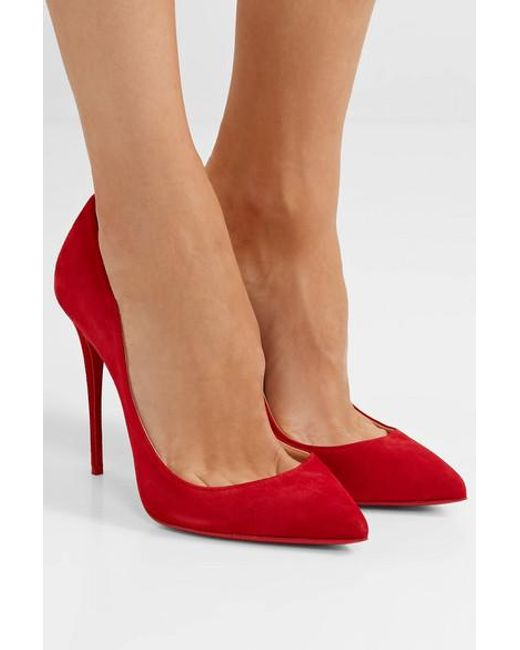 promo code 6844b 04ba0 Women's Red Pigalle Follies 100 Suede Pumps