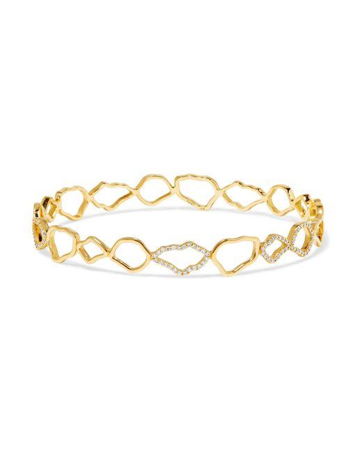 Kimberly Mcdonald   Metallic 18-karat Gold Diamond Bracelet   Lyst