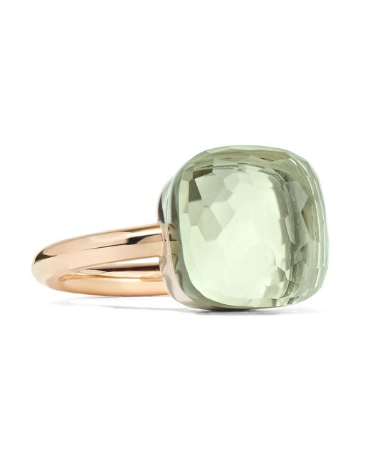 Pomellato - Metallic Nudo Maxi 18-karat Rose Gold Prasiolite Ring - Lyst
