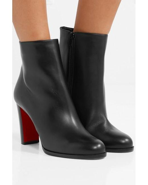 best sneakers c125c b9b36 Women's Black Adox 85 Leather Ankle Boots