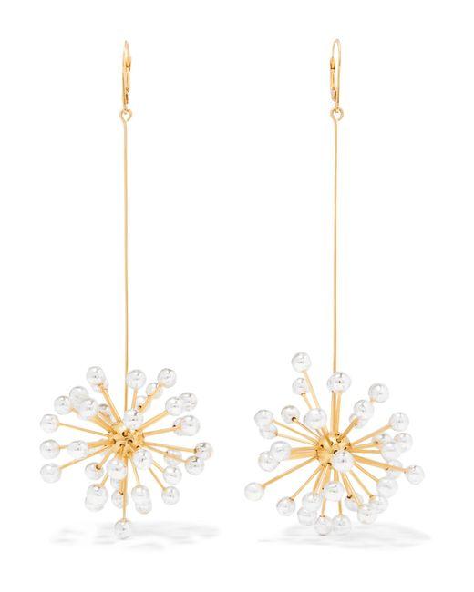 Ellery | Metallic Dr. Mom Gold-plated Earrings | Lyst