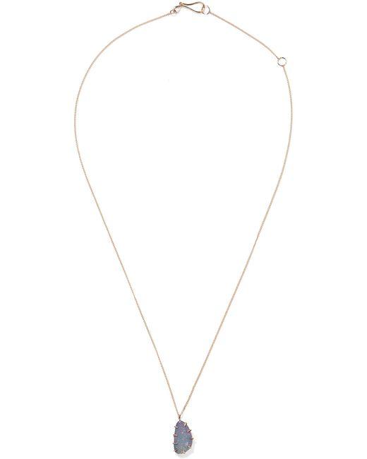 Melissa Joy Manning | Metallic 14-karat Gold Opal Necklace | Lyst