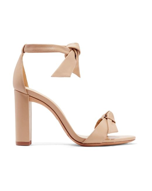 Sandales en cuir métallisé ClaritaAlexandre Birman Pa7BySoVS