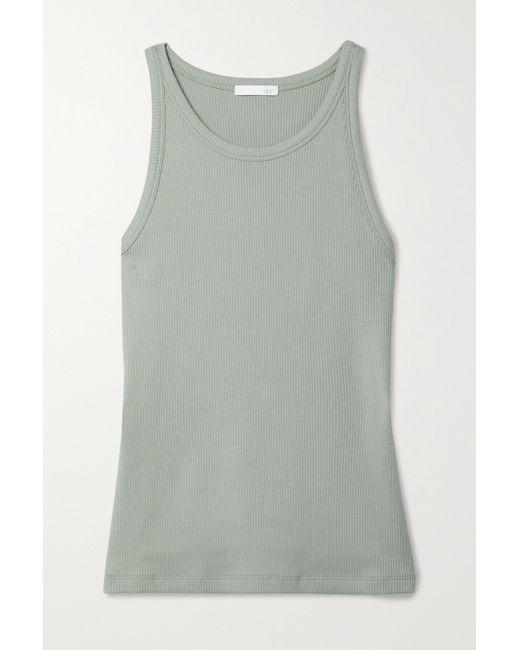 Skin Multicolor Ivy Tanktop Aus Geripptem Pima-baumwoll-jersey Mit Stretch-anteil