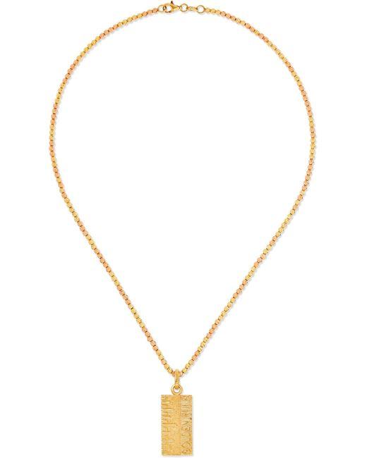Carolina Bucci - Metallic Golden Rule 18-karat Yellow And Rose Gold Necklace - Lyst
