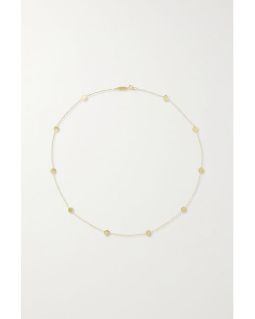 Jennifer Meyer Metallic Circle-by-the-inch 18-karat Gold Necklace
