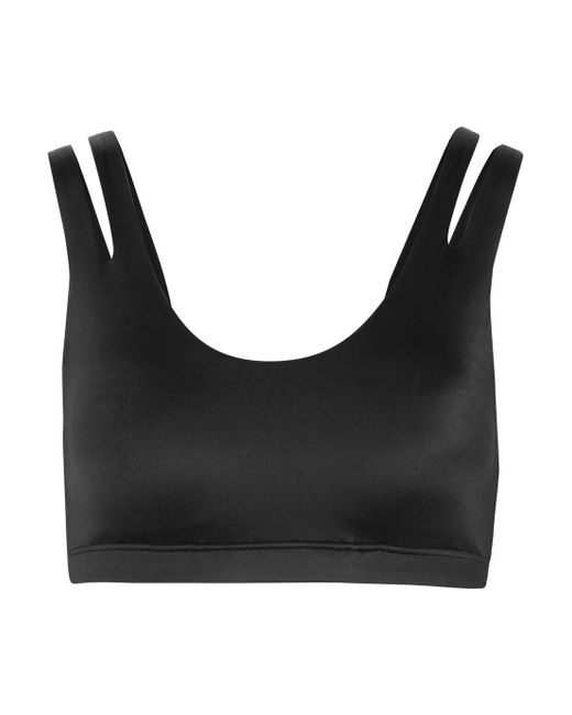 Indy Shine Dri-fit Stretch Sports Bra - Black Nike Cheap Best Cheap Amazing Price Latest Collections Sale Online Enjoy Cheap Price VucBZxY