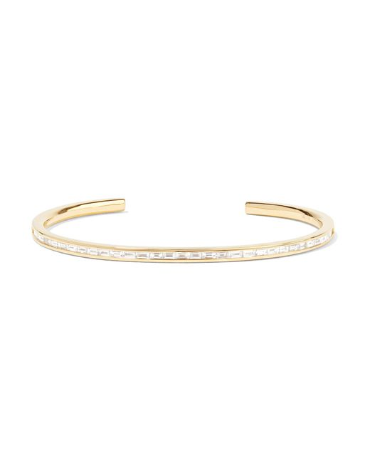 Anita Ko - Metallic 18-karat Gold Diamond Cuff - Lyst