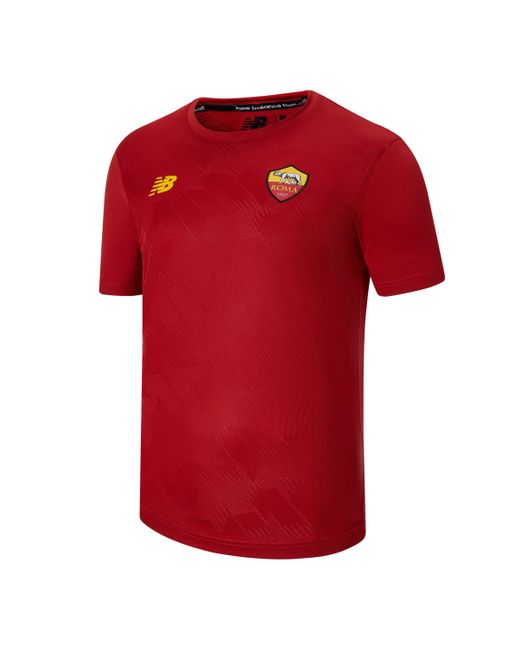 New Balance Red As Roma Pre-game Jersey for men